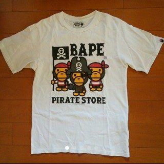 アベイシングエイプ(A BATHING APE)のBAPE PIRATE Tシャツ(Tシャツ/カットソー(半袖/袖なし))