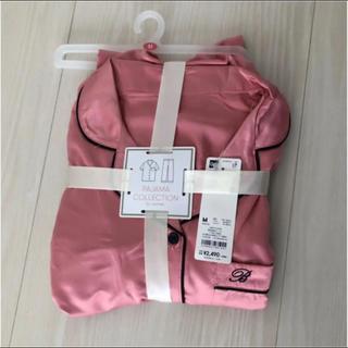 ジーユー(GU)のかおり様 専用 gu  サテンパジャマ Mサイズ 半袖 長ズボン(パジャマ)