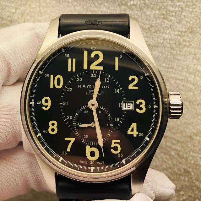 Hamilton - 自動巻 ハミルトン メンズ   腕時計の通販 by Y1102's shop|ハミルトンならラクマ