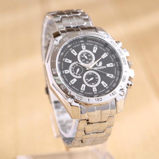 訳あり⚡️新品⚡️ORIANDOメンズ腕時計!セイコー、タグホイヤーファン必見!の通販 by hkazamatu's shop|ラクマ