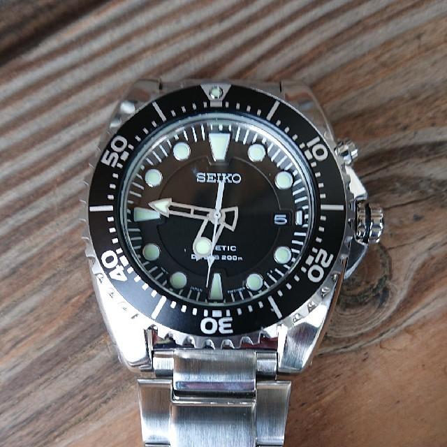ブライトリング 時計 コピー 時計 | SEIKO - SEIKO キネティックダイバーの通販 by ドゥーニャン's shop|セイコーならラクマ