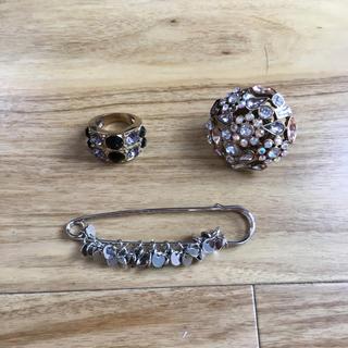 指輪とクリップ(リング(指輪))