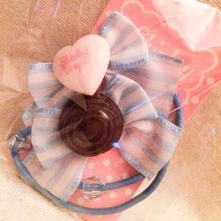 シャーリーテンプル(Shirley Temple)のチョコレートモチーフヘアポニー(ヘアゴム/シュシュ)