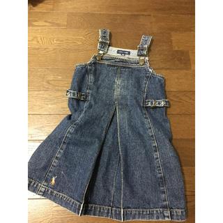 ラルフローレン(Ralph Lauren)のラルフローレン デニム ジャンパー スカート ワンピース(ワンピース)