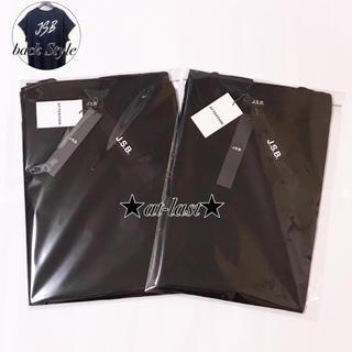 サンダイメジェイソウルブラザーズ(三代目 J Soul Brothers)のJSBカットオフスリーブシャツ黒2枚セット正規品新品三代目J.S.B. 今市登坂(Tシャツ/カットソー(半袖/袖なし))