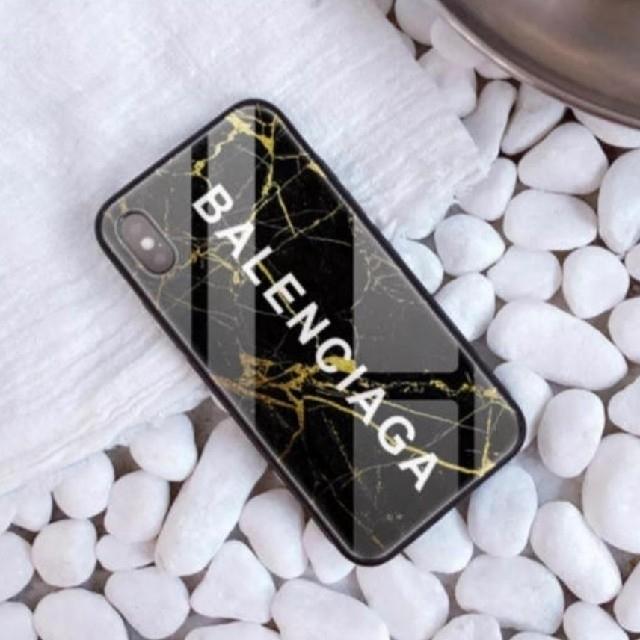 グッチ iphonexs ケース 人気 / iPhone XS XR ケース ブラック 大理石風の通販 by raise shop|ラクマ