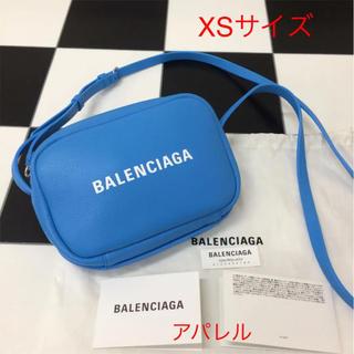 5329e5c4ef7d バレンシアガ(Balenciaga)の新品 BALENCIAGA バレンシアガ エブリデイ カメラバッグ XS ブルー(ショルダーバッグ
