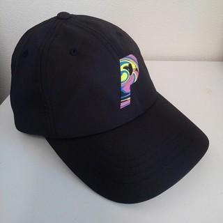 シュプリーム(Supreme)の新作未使用 パレス キャップ 帽子 Black 黒 レインボー (キャップ)