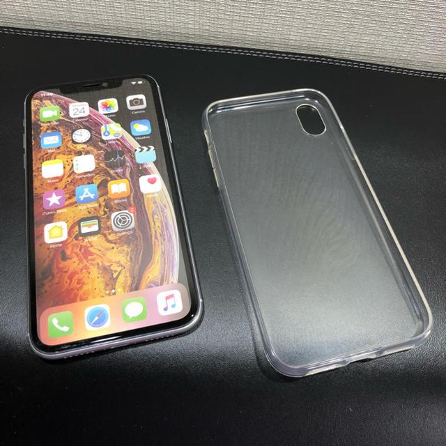 iphone バンパーケース 、 iPhone XR用クリアケースの通販 by こーちゃん's shop|ラクマ
