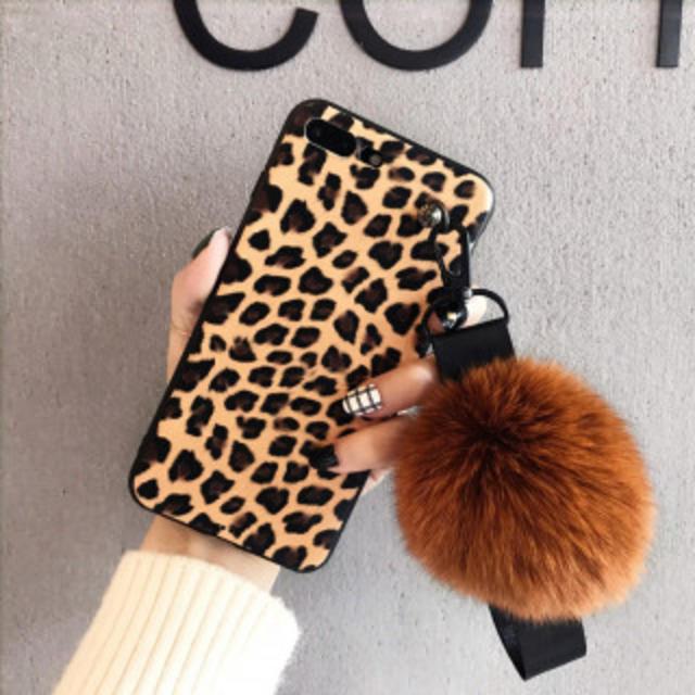 新品 ヒョウ柄 ファーストラップ付き iphoneケース 各サイズありますの通販 by カルバン's shop|ラクマ