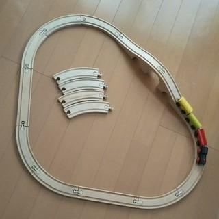 イケア(IKEA)のIKEA 木の列車セット(電車のおもちゃ/車)