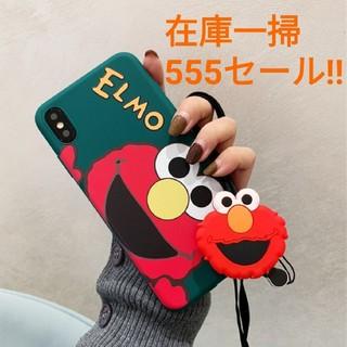 セサミストリート(SESAME STREET)のiPhoneXR用カバー セサミストリート エルモスマホケース セール555円!(iPhoneケース)