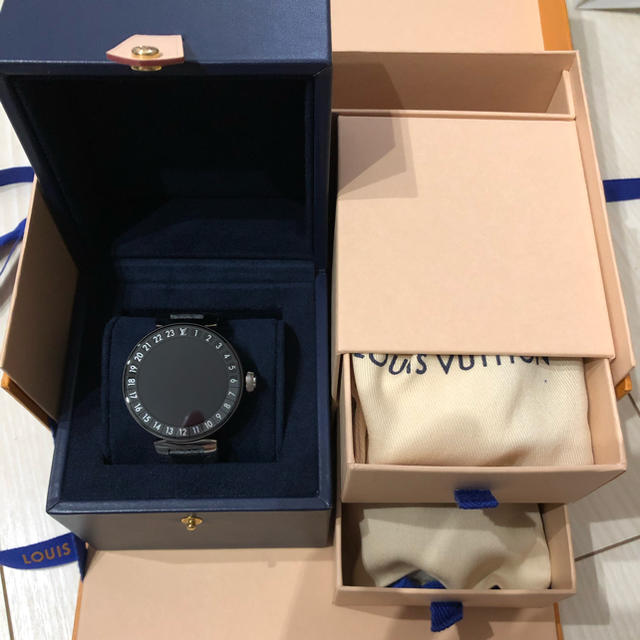 レプリカ 時計 柵 diy 、 LOUIS VUITTON - 最新作!!ルイヴィトン タンブール ホライゾン V2 マットブラック 正規品 の通販 by こーちゃん's shop|ルイヴィトンならラクマ