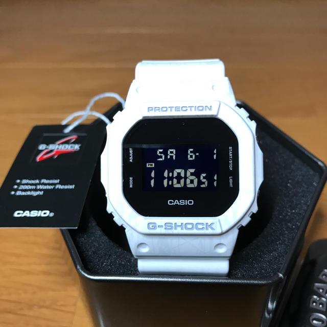 CASIO - 【カシオ】G-SHOCK  DW-5600SL-7DR 未使用品の通販 by tori50haplac's shop|カシオならラクマ