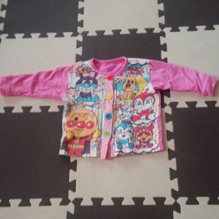 アンパンマン(アンパンマン)の♡中古 アンパンマン パジャマ 80㌢ 記名ナシ♡(パジャマ)