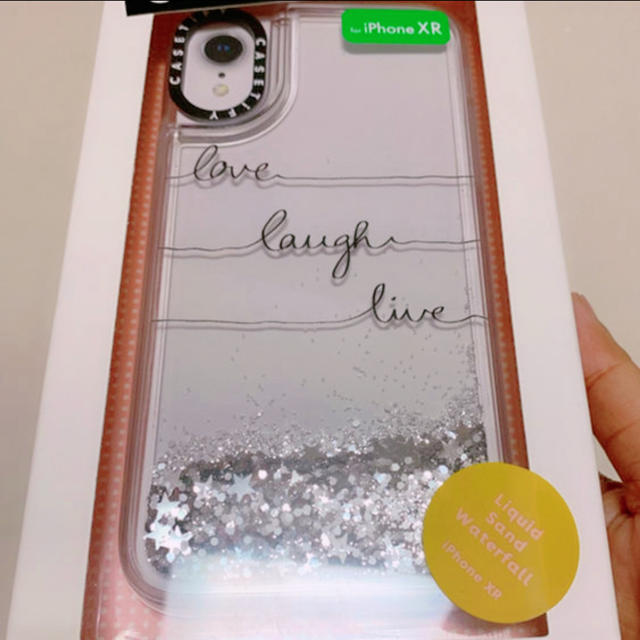 Apple - CASETIFY Glitter Case iPhone XRの通販 by 🌸キッチ のシヨップ🌸|アップルならラクマ