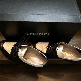 シャネル(CHANEL)のシャネル  ボックスドレスシューズ(ローファー/革靴)