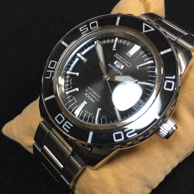 SEIKO - セイコー5 スポーツ SEIKO5 逆輸入 腕時計 自動巻き SNZH55J1の通販 by ミズキ's shop|セイコーならラクマ