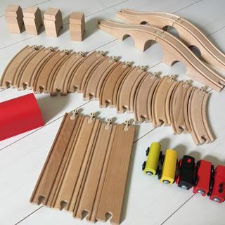 イケア(IKEA)のIKEA♡電車30点セット🛤(電車のおもちゃ/車)