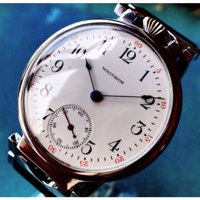 Waltham - ◆ウォルサム◆ OH済/バックスケルトン/1892/アンティーク/腕時計/手巻の通販 by KT-ANTIQUE SHOP|ウォルサムならラクマ