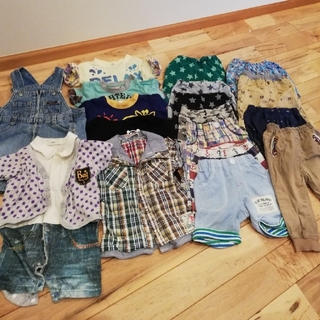 ニシマツヤ(西松屋)の子供 夏服 80セット(その他)