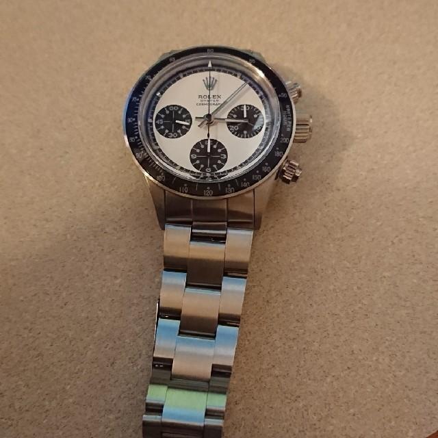 ブライトリング 時計 中古 / ROLEX - 6263 カスタム 白ポールの通販 by かつ's shop|ロレックスならラクマ