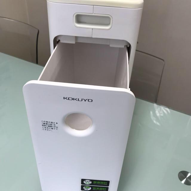 コクヨ(コクヨ)のコクヨ シュレッダー  KPS-X120 インテリア/住まい/日用品のオフィス用品(オフィス用品一般)の商品写真