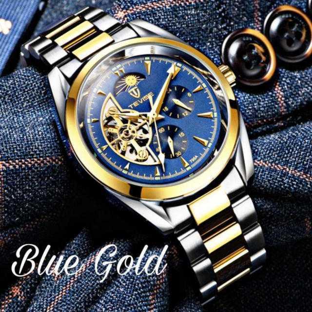 ロレックス 一番高い 時計 / 【サン&ムーンシリーズ第四弾!!】ティバイズ 腕時計 メンズ ウォッチの通販 by レビサウンド's shop|ラクマ