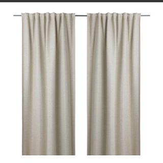 イケア(IKEA)のIKEA  イケア  遮光カーテン  2枚セット  未使用(カーテン)