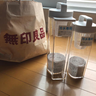 ムジルシリョウヒン(MUJI (無印良品))の無印良品の冷水筒2本セット(水筒)