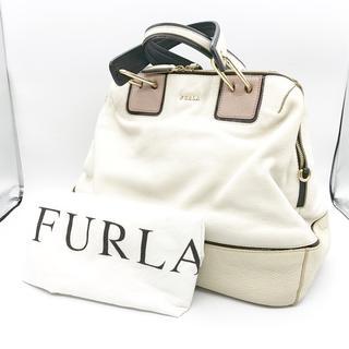 e374eae79ea9 フルラ(Furla)の フルラ FURLA レディース バッグ トートバック 白 袋付き イタリア(