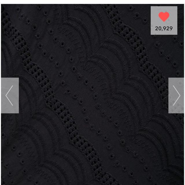 GU(ジーユー)のGU スカラップレース ブラウス レディースのトップス(シャツ/ブラウス(半袖/袖なし))の商品写真
