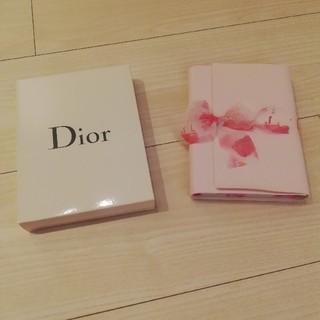 ディオール(Dior)のmiss dior 手帳/ノート(ノベルティグッズ)