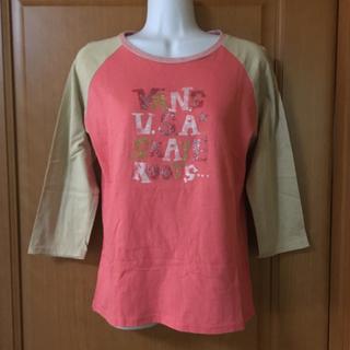 ヴァンズ(VANS)のヴァンズ   Tシャツ  七分袖  美品(Tシャツ(長袖/七分))