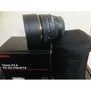 SIGMA - Nikon用 SIGMA 15mm F2.8 EX DG FISHEYE