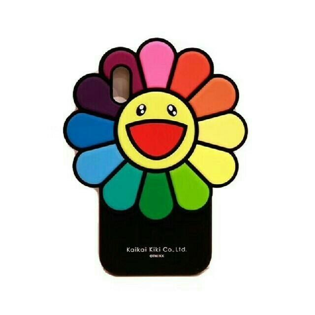 iPhone - 送料無料 お花シリコンケース 村上隆 レインボー フラワーの通販 by いいか's shop|アイフォーンならラクマ