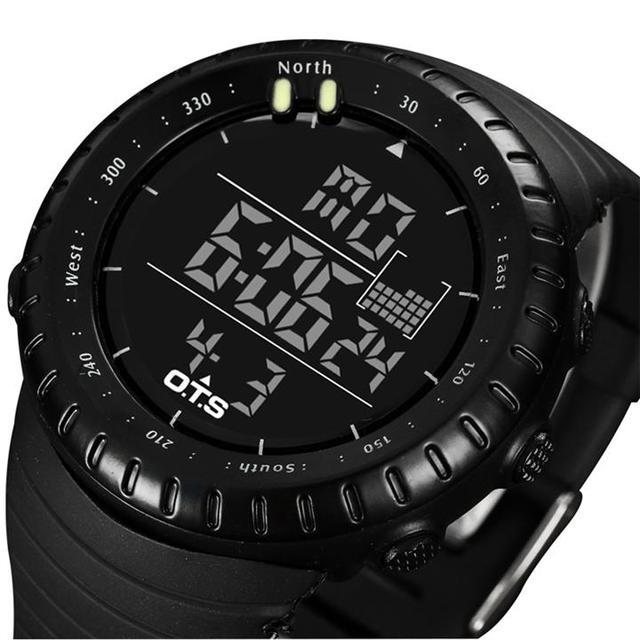 腕時計 スーパーコピー 優良店 - スント風 OTS ダイバーズウォッチ ブラック 50M防水の通販 by dcycg's shop|ラクマ