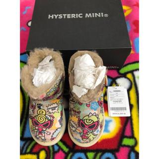 ヒステリックミニ(HYSTERIC MINI)のヒスミニ ブーツ(ブーツ)