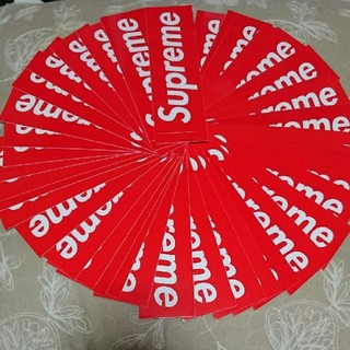 Supreme - Supreme box logo Sticker ステッカー 赤 定番