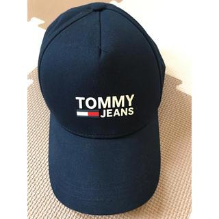 トミーヒルフィガー(TOMMY HILFIGER)のトミージーンズ キャップ 美品(キャップ)