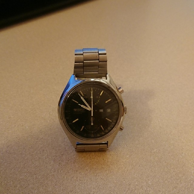時計 コピー ロレックス u番 | SEIKO - セイコー6138-8020二つ目クロノブラックフェイス美品未稼働の通販 by かつ's shop|セイコーならラクマ