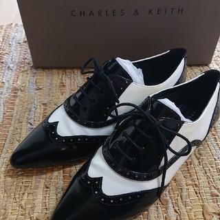 Charles and Keith - 美品!オックスフォードシューズ38