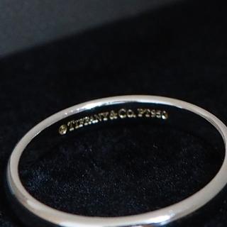 ティファニー(Tiffany & Co.)のTiffanyプラチナリング 結婚指輪(リング(指輪))