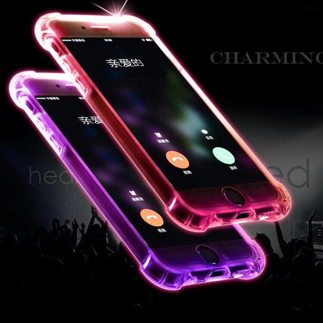 光る iPhoneケースの通販 by 購入前にコメント在庫確認|ラクマ