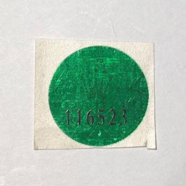 ROLEX - 社外品補修用 Ref.116523 ホログラムシール の通販 by ディライトさん's shop|ロレックスならラクマ
