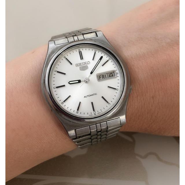 SEIKO - T008 ★ セイコー 5 腕時計 自動巻 オートマティック メンズの通販 by Only悠's shop|セイコーならラクマ