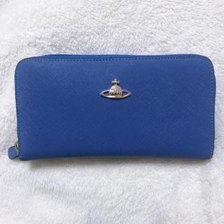 ヴィヴィアンウエストウッド(Vivienne Westwood)のVivienne Westwood ヴィヴィアンウエストウッド ブルー 長財布(財布)