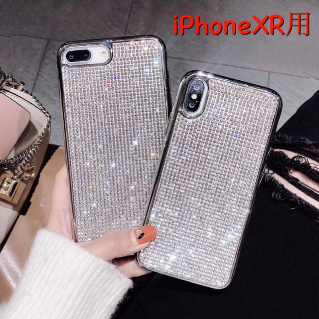 iphone ハードカバー 、 キラキラ ラインストーン iPhoneケース スワロフスキー風 XR用の通販 by galaxycountry's shop|ラクマ