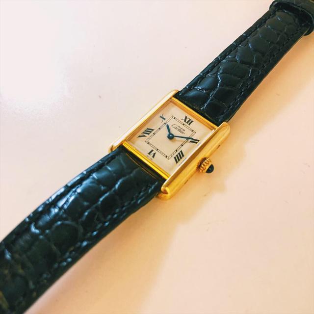 クロノスイス 時計 コピー 新作が入荷 、 Cartier - カルティエ Cartier マストタンク 手巻き腕時計 の通販 by Balocco's shop|カルティエならラクマ
