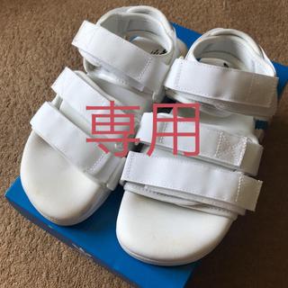 アディダス(adidas)のadidas アディダス サンダル 22.5cm(サンダル)